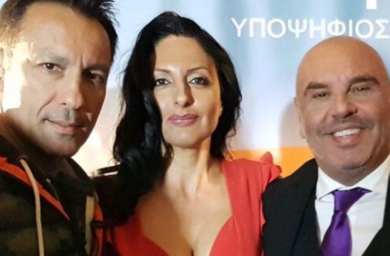 Η Γεωργία Μπιτάκου και ο Πέτρος Ιμβριος στηρίζουν τον Τάσο Γκουριώτη στην Γλυφάδα